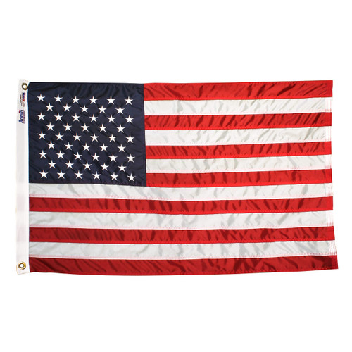 American Nyl-Glo Flag 2.5ft x 4ft Nylon By Annin