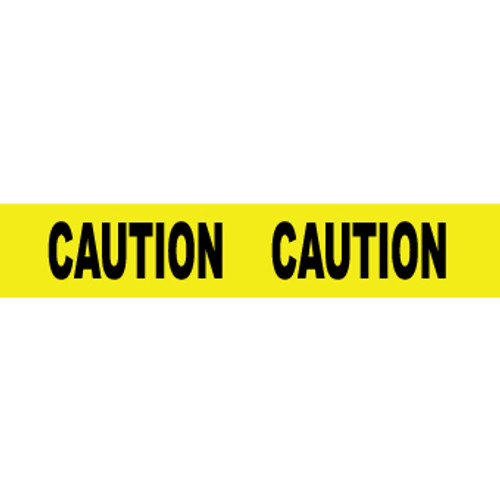 "Caution Caution, 2 Mil 2"" x 1000', Barricade Tape"