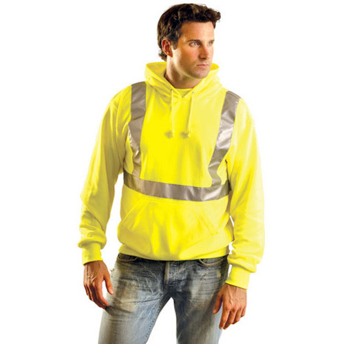 OccuNomix LUX-SWTLH Class 2 High-Vis Reflective Hoodie