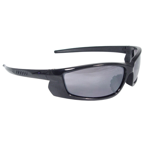 Radians Voltage Safety Glasses - Black Frame - Electric Blue Lens