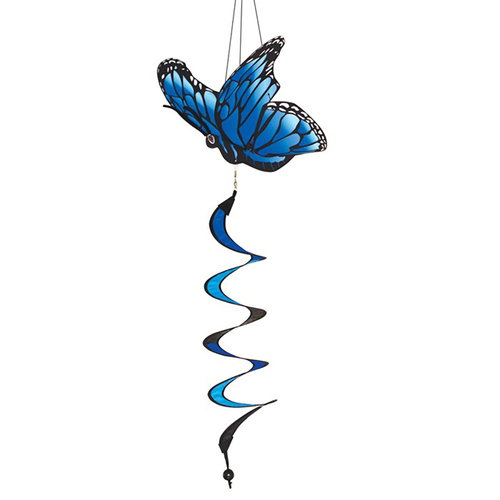 Blue Morpho Theme Twister - 32""