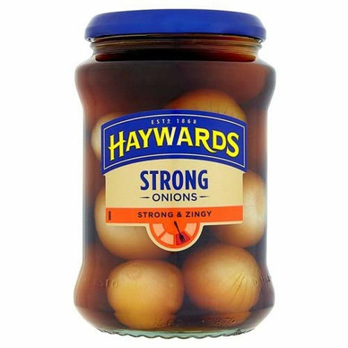 Haywards' Strong & Zingy Onions - 14.1oz (400g)