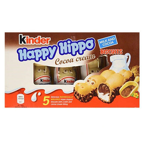Kinder Hippo 5 Pack