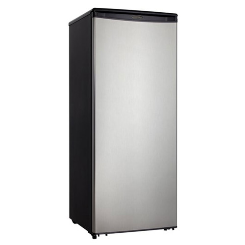 Danby 11 Cu. Ft. Refrigerator - Black / Stainless