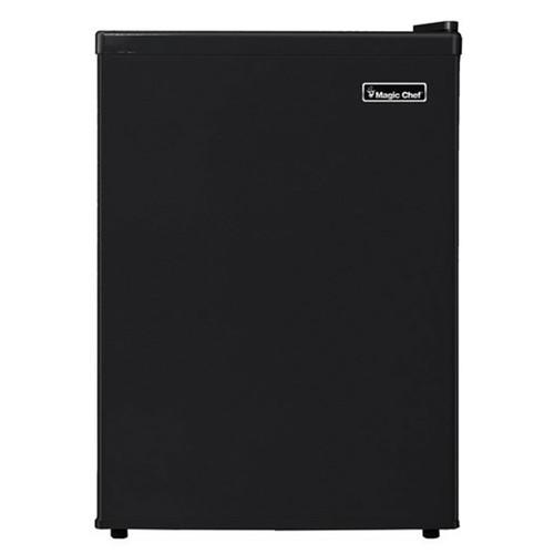 Magic Chef 2.4 Cu. Ft. Compact Refrigerator - Black - MCBR240B1