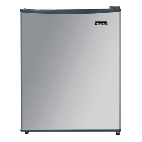 Magic Chef 2.4 Cu. Ft. Compact Refrigerator - Stainless - MCAR240SE2