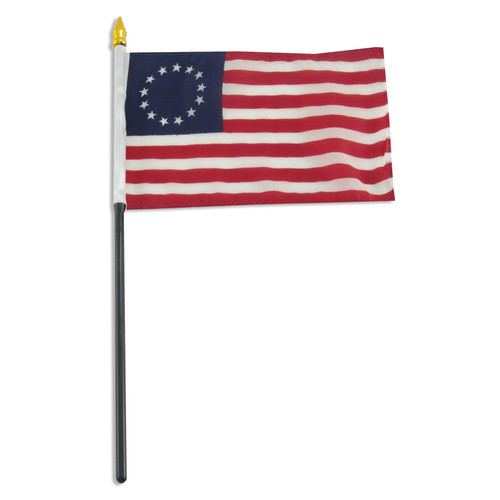 Betsy Ross flag 4 x 6 inch