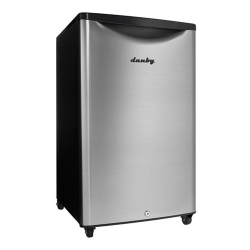 Danby 4.4 Cu. Ft. Compact Refrigerator - Stainless - DAR044A6BSLDBO