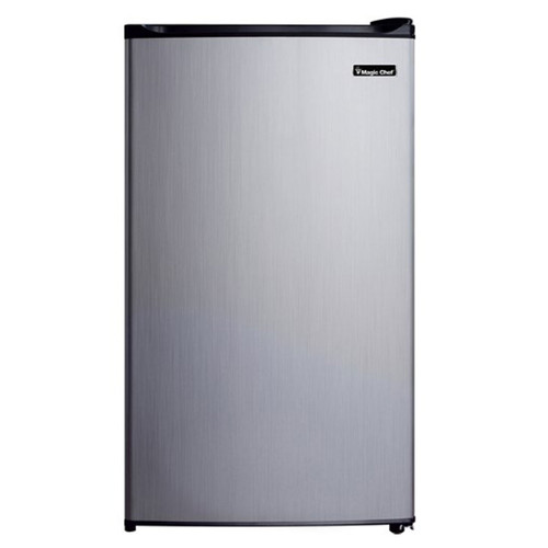 Magic Chef 3.5 Cu. Ft. Compact Refrigerator - Stainless - MCBR350S2