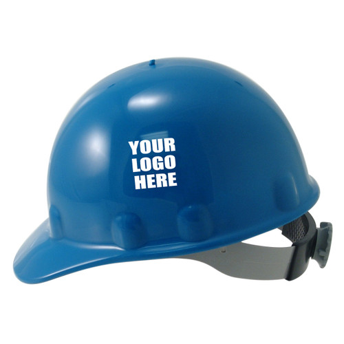 Custom Fibre Metal SuperEight Ratchet Hard Hat