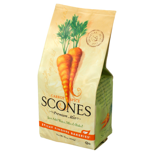 Scone Mix - Carrot Spice  - 16oz (454g)