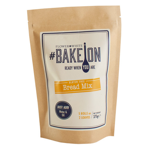 Flower White #BakeOn Gluten Free Bread Mix - 13.2oz  (375g)