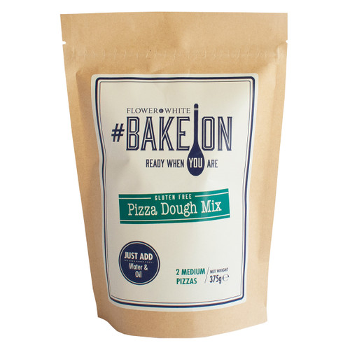 Flower White #BakeOn Gluten Free Pizza Dough Mix - 13.2oz  (375g)