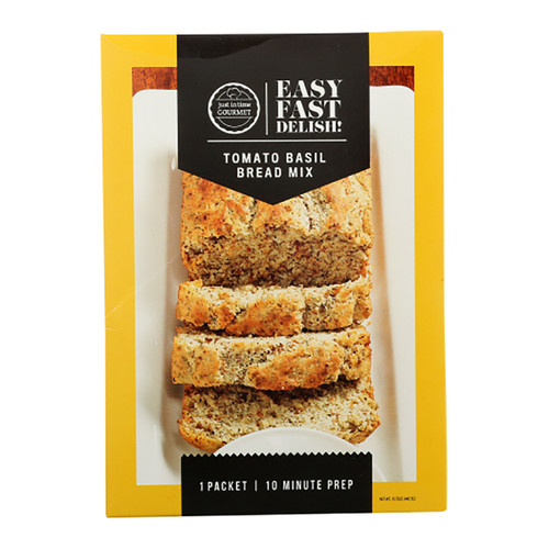 Just In Time Gourmet Tomato Basil Bread Mix - 15.75oz
