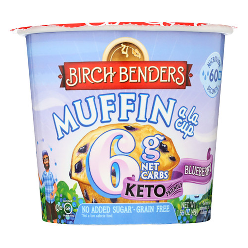 Birch Benders Baking Cup - Blueberry Muffin - 1.69oz (47g)