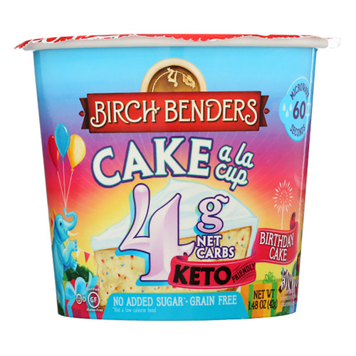 Birch Benders Baking Cup - Birthday Cake - 1.48oz (41g)