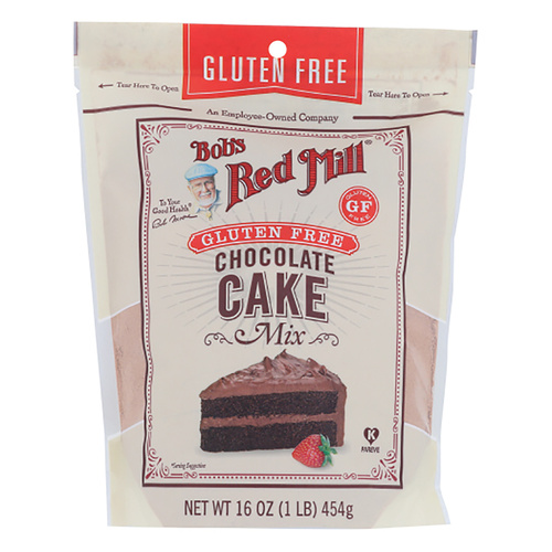 Bob's Red Mill Gluten Free Chocolate Cake Mix - 16oz (454g)