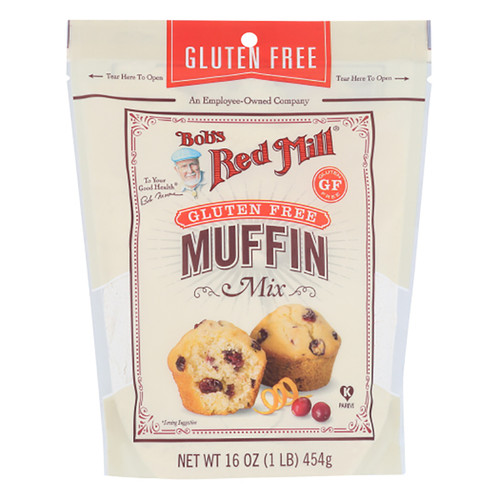 Bob's Red Mill Gluten Free Muffin Mix - 16oz (454g)