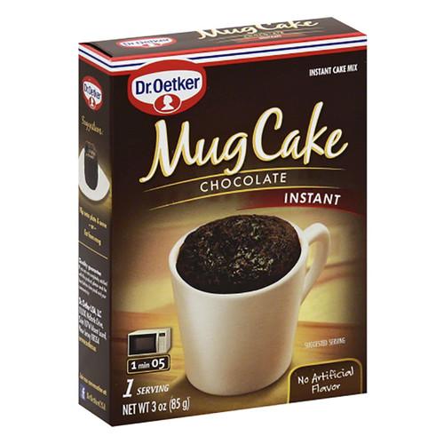 Dr. Oetker Mug Cake Instant Mix- Chocolate  - 3oz (85g)
