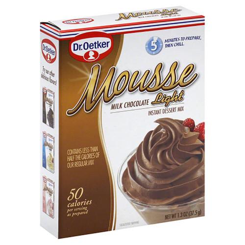 Dr. Oetker Mousse Light Milk Chocolate Instant Dessert Mix - 1.3oz (37.5g)