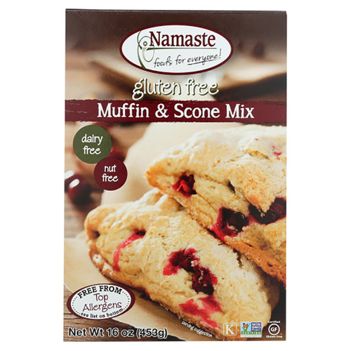 Namaste Gluten Free Muffin & Scone Mix- 16oz (453g)