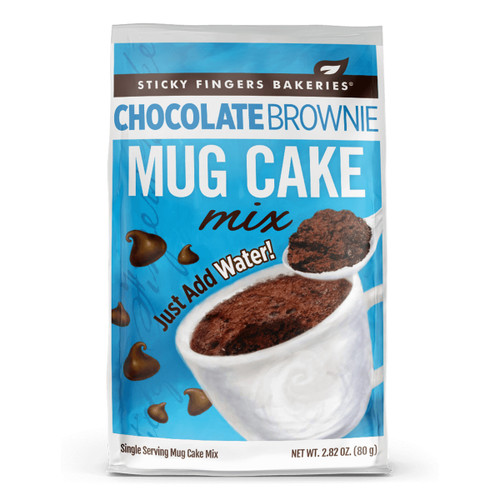 Mug Cake Mix - Chocolate Brownie - 2.82oz (80g)