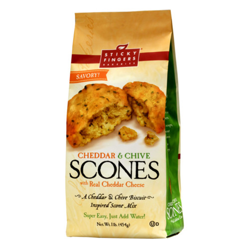 Scone Mix - Cheddar & Chive - 16oz (454g)
