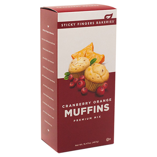 Muffin Mix - Cranberry Orange -16.47oz (467g)