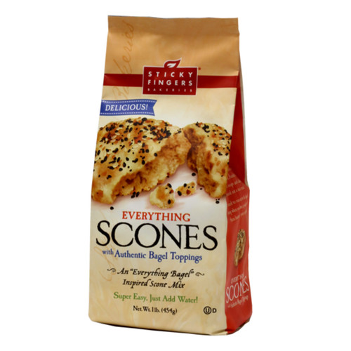 Scone Mix - Everything Bagel - 16oz (454g)