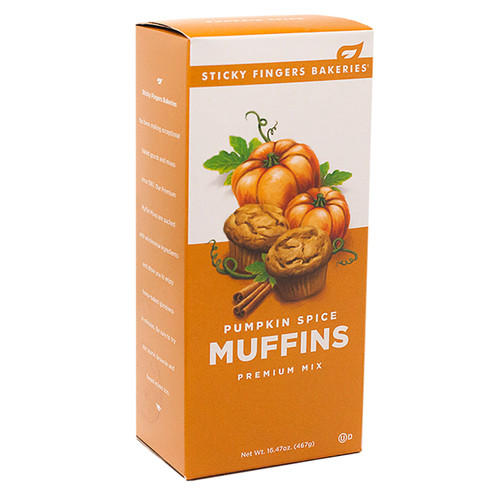 Muffin Mix - Pumpkin Spice -16.47oz (467g)
