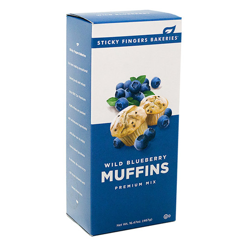 Muffin Mix - Wild Blueberry -16.47oz (467g)