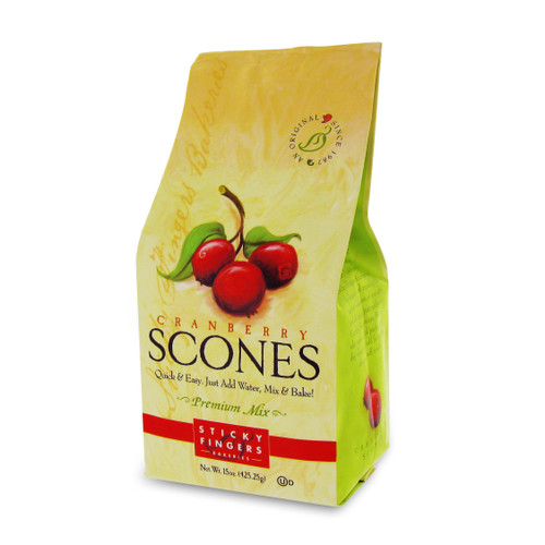 Scone Mix - Cranberry - 15oz (425g)