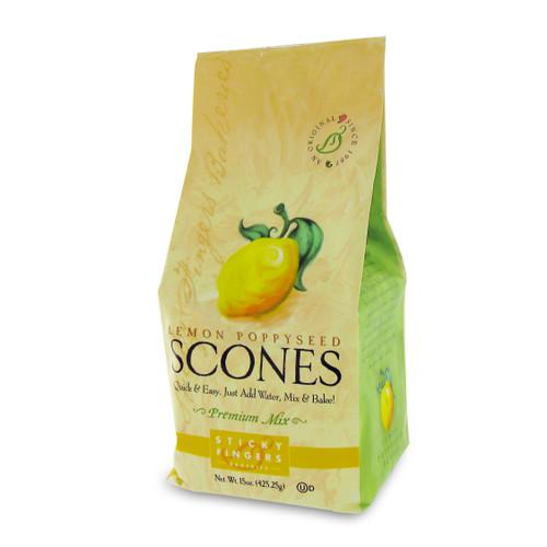 Scone Mix - Lemon Poppyseed - 16oz (454g)