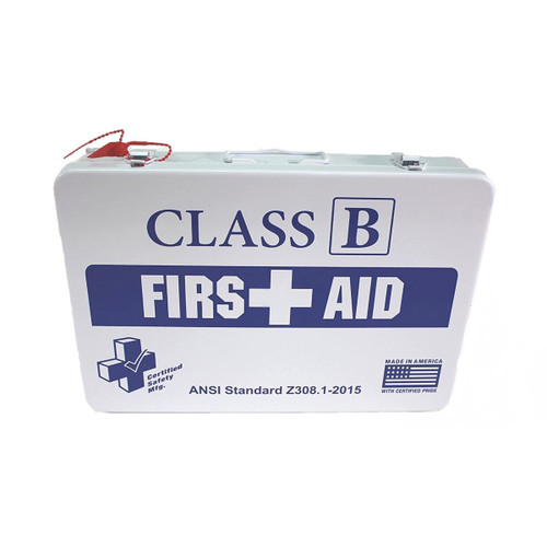 Class B, Metal First Aid Kit - K615-019