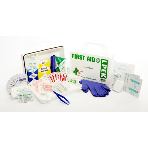 Economy Series 25-Person First Aid Kit
