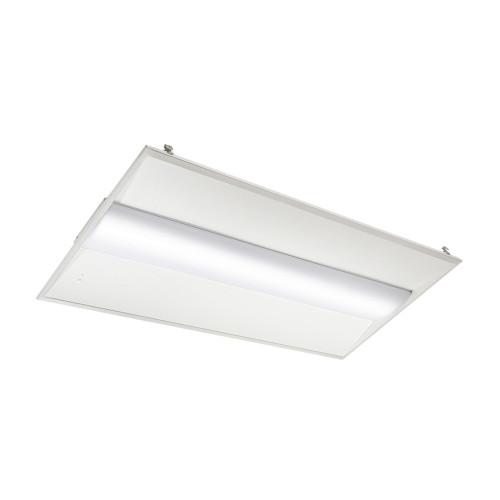 Case of 2 - 2x4 LED Troffer - 36 Watt - Dimmable - 4500 Lumens - Euri 4000K Bright White