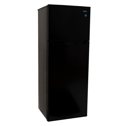 Danby 7.3 Cu. Ft. Refrigerator w/ Independent Freezer - Black - DPF073C2BDB