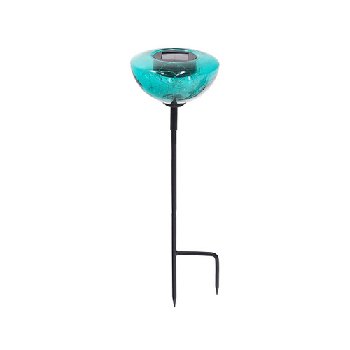 Emerald Green Aureole Solar Stake Lights