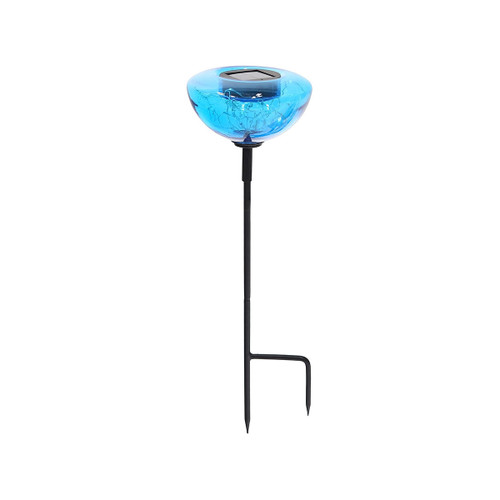 Teal Aureole Solar Stake Lights