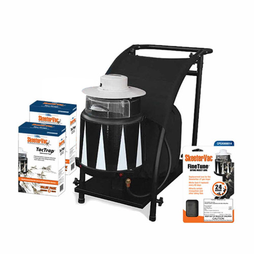 SkeeterVac SV5100 Mosquito Trap and Accessory Bundle