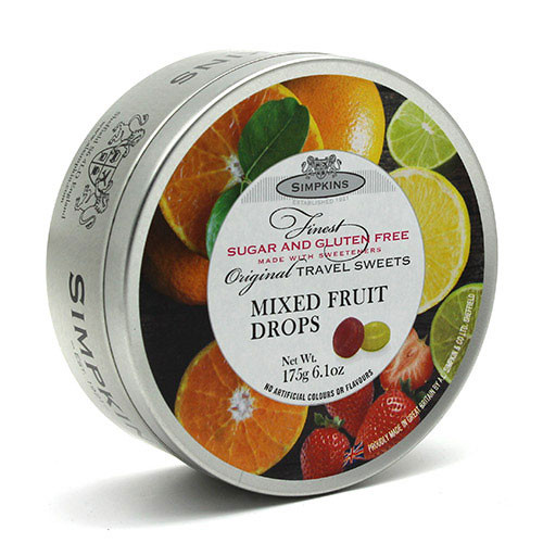 Simpkin's Travel Sweets - Sugar Free Mixed Fruit - 6.1oz. (175g)