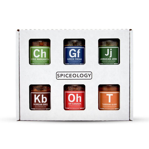 Spiceology Global Flavors Variety 6 Pack
