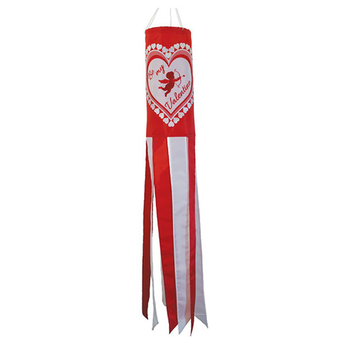 Be My Valentine Windsock - 40""
