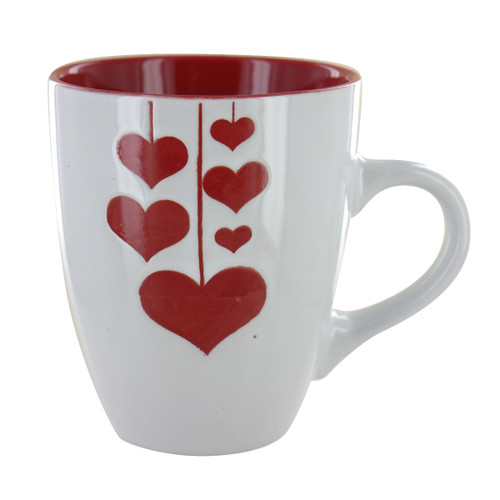 Hanging Hearts Mug - 12oz