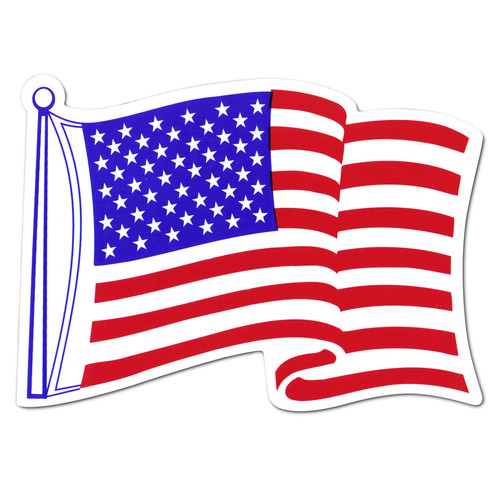 American Car Flag Magnet