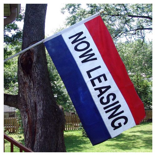 Now Leasing Flag