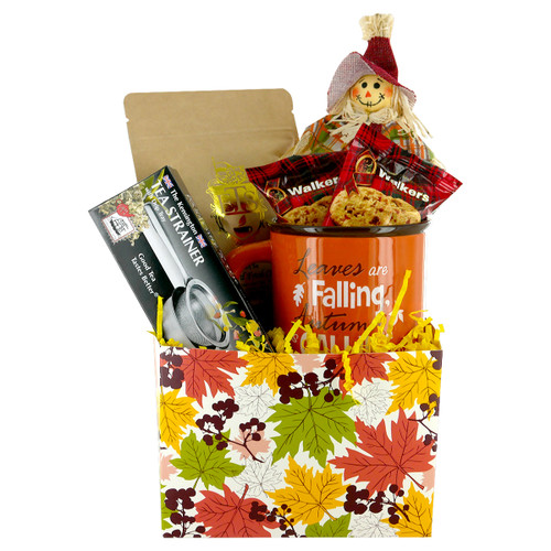 Autumn Leaves Gift Basket