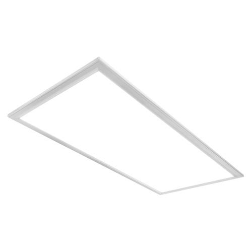 Case of 2 - Premium 2x4 LED Edge-Lit Flat Panel - Earthquake Kit - 50W - 6500 Lumens - Dimmable