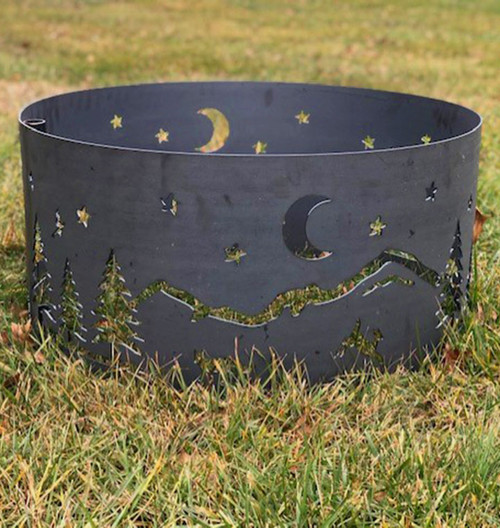 Wilderness Fire Pit Ring- 30 Inch