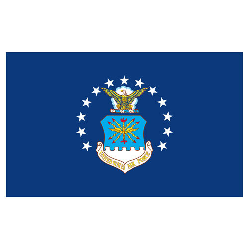Air Force 3ft x 5ft Printed Polyester Flag